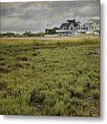 Milford Point Beach Metal Print