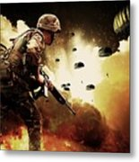 Military Our Heroes Metal Print