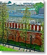 Military Parade Practice Inside Kremlin Walls In Moscow-russia Metal Print