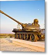 Military Tank Outdoor Installation View Metal Print