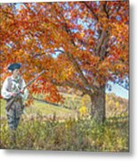 Militia Farmer The Right To Keep And Bear Arms Metal Print