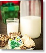 Milk And Cookies Metal Print by Edward Fielding