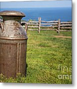 Milk Churn Metal Print