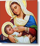 Milk Grotto Icon Metal Print