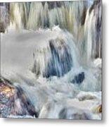 Milky Waterfall Metal Print