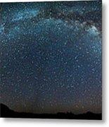 Milky Way Bow Metal Print