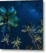 Milky Way From Jambiani Beach Metal Print
