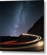 Milky Way Over Mitzpe Ramon Metal Print