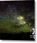 Milkyway  Crossing Blur Metal Print