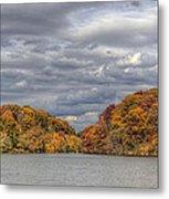 Mill Creek Park In Fall Metal Print