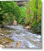 Mill Creek Viaduct Metal Print by Bob Jackson