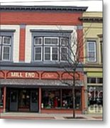 Mill End Store In Clare Michigan Metal Print