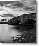 Mill Gut Bridge Metal Print