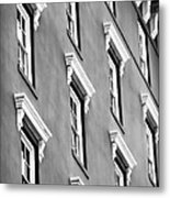 Mill House Windows Metal Print
