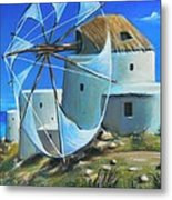 Mill On The Hill Metal Print