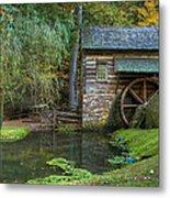 Mill Pond In Woods Metal Print