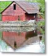 Mill Pond Metal Print