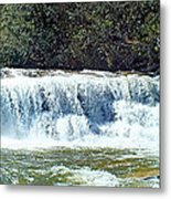 Mill Shoals Waterfall During Flood Stage Metal Print