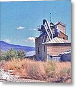 Mill View Metal Print