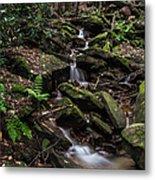 Millcreek Road Waterfall Metal Print