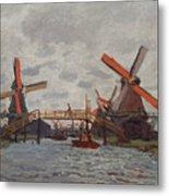 Mills At Westzijderveld Metal Print