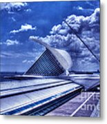 Milwaukee Art Museum 1 Metal Print