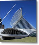 Milwaukee Art Museum - Calatrava Metal Print by James Hammen
