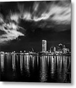 Milwaukee At Night Metal Print