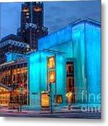 Milwaukee Pac Evening Glow Metal Print