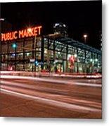 Milwaukee Public Market Metal Print