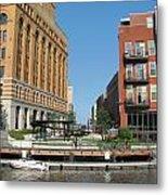 Milwaukee River Architecture 5 Metal Print
