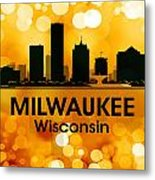Milwaukee Wi 3 Metal Print by Angelina Vick