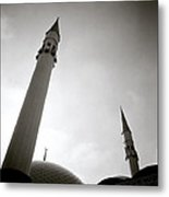 Minarets At Dusk Metal Print