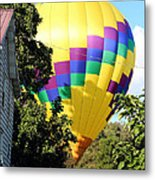 Mind If I Land In Your Backyard 2 Metal Print