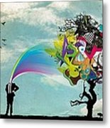 Mind Outburst Metal Print
