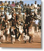 Mine Dancers South Africa Metal Print by Susan McCartney