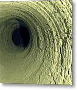 Mine Tunnel Metal Print