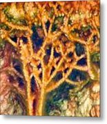 Mineral Branches Hot Springs Metal Print