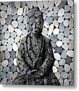 Mineral Buddha Metal Print