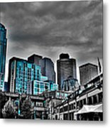Miner's Landing On Pier 57 - Seattle Washington Metal Print