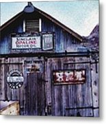 Miner's Workshop Metal Print