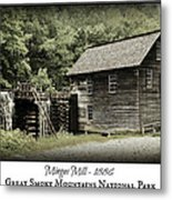 Mingus Mill - Color Poster Metal Print