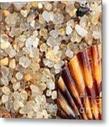 Mini Beach Vacation Metal Print