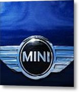 Mini Blue Metal Print