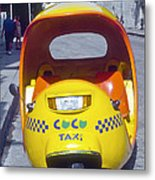 Mini-cab Metal Print
