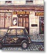 Mini De Montmartre Metal Print