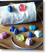 Mini Soaps Collection Metal Print