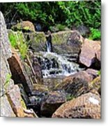 Mini Water Fall Metal Print
