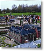 Miniature Friedenspalast Metal Print