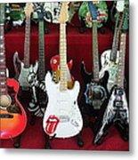 Miniature Guitars Szentendre Hungary Metal Print